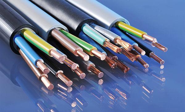 Unternehmen Abteilungen Kabel und Leitungen