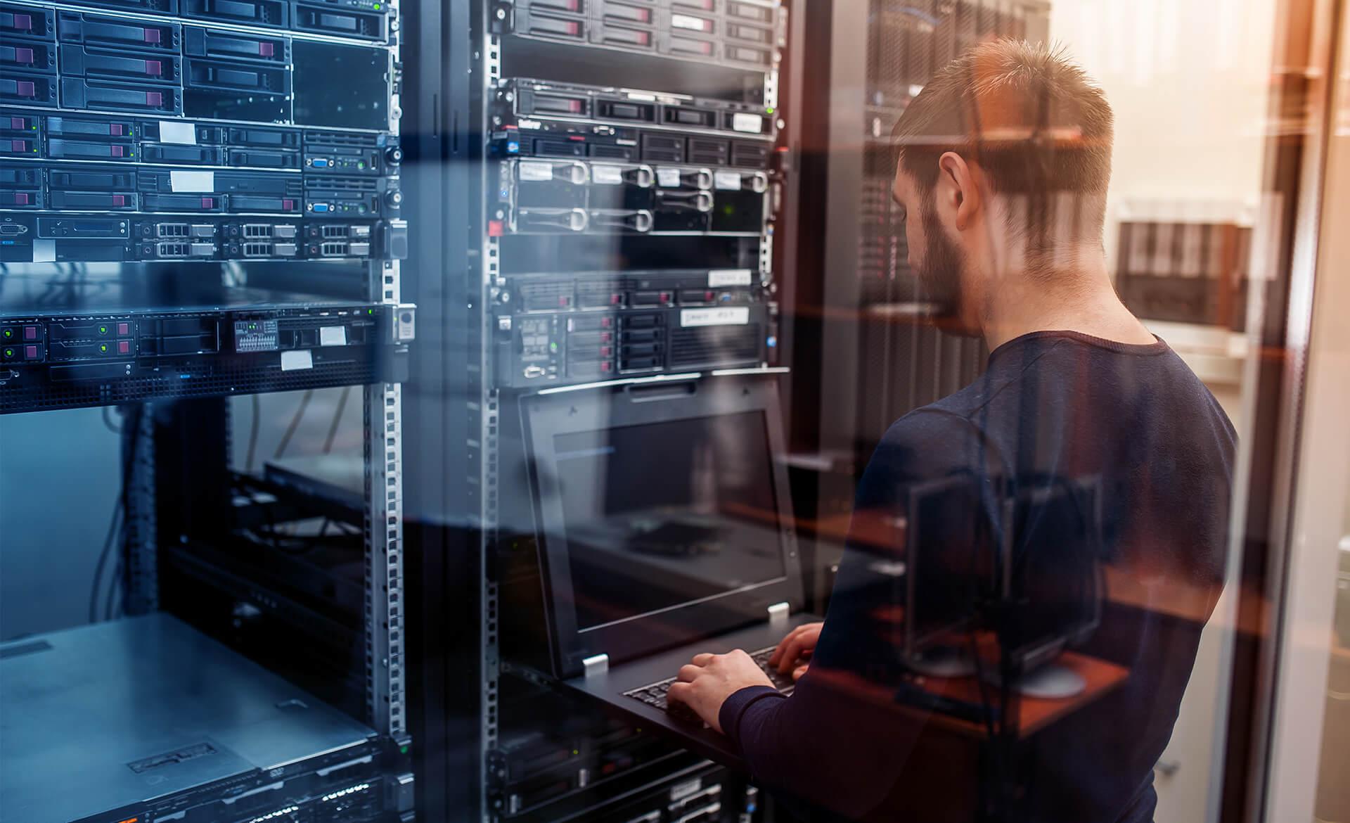 Dienstleistungskompetenz Akkordeon Datennetzwerk und Kommunikationstechnik