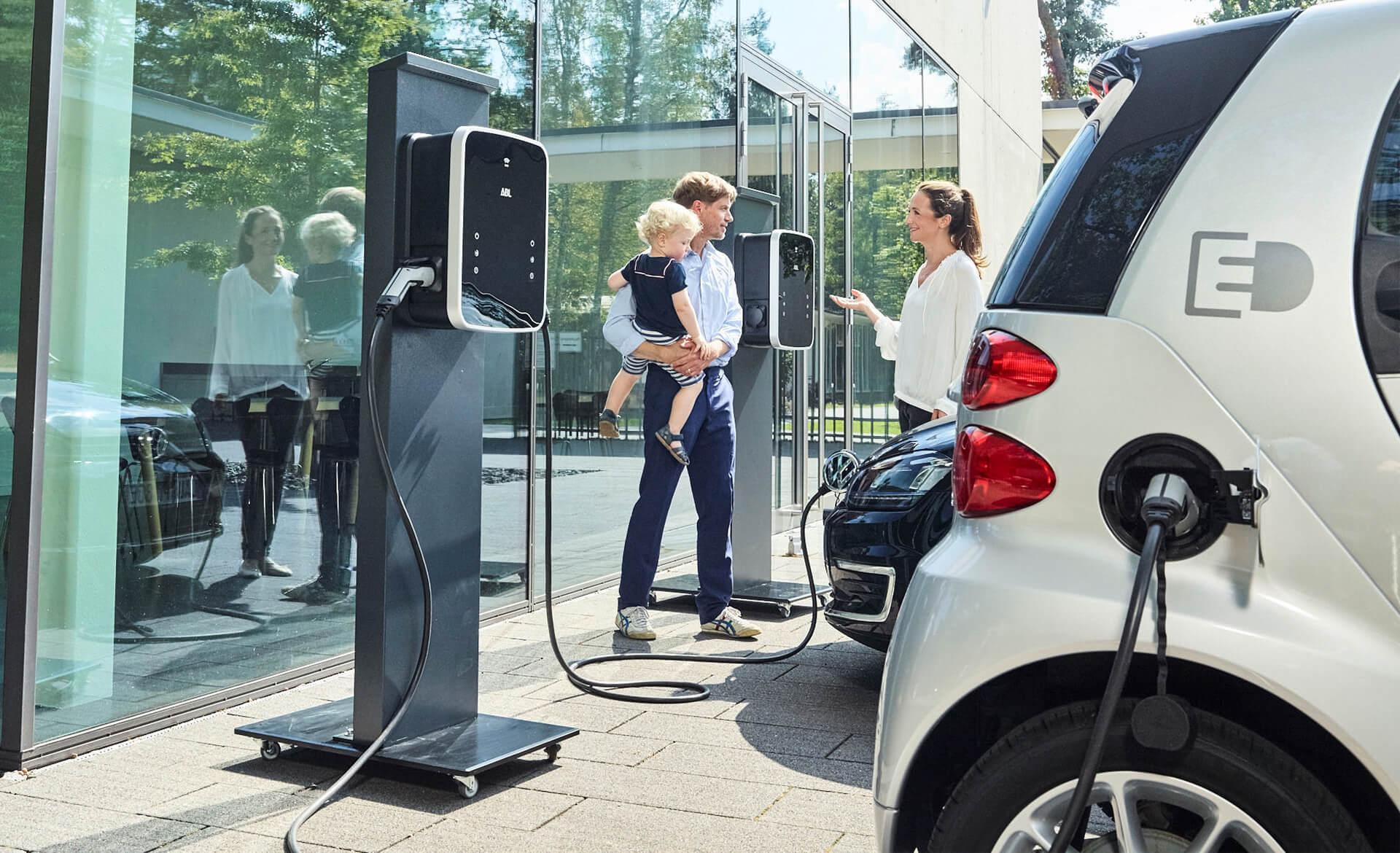 Dienstleistungskompetenz Akkordeon eMobility