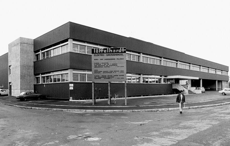 Unternehmen Historie Timeline 1970